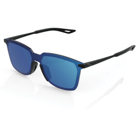 100% Legere UltraCarbon Square Bril, zwart/blauw